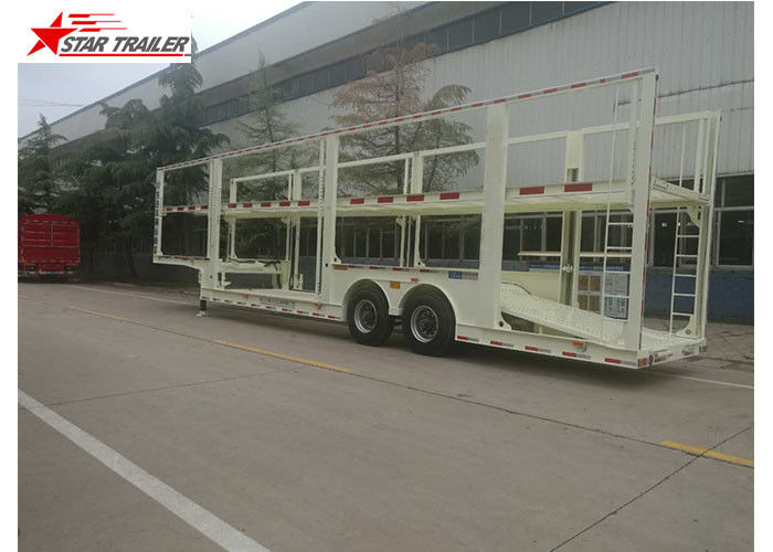 4-8 Vehicle Hydraulic Car Carrier Trailer Heavy Duty And Extra Durability Designed