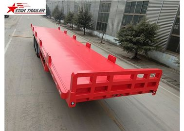 China 13 Meters 3 Axles 48 Ft Aluminum Flatbed Trailer 13165x2550x1500mm distributor