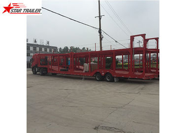 China 3 Axles Car Carrier Trailer Steel Leaf Spring Suspension For  Vehicle Transportation factory