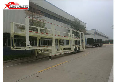 China Auto Transportation Car Carrier Trailer 40t Max Payload With 450mm Height I Beam distributor