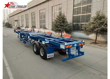 China Two Axles Terminal Trailer Q345B Material For Transport 20 Foot Container distributor