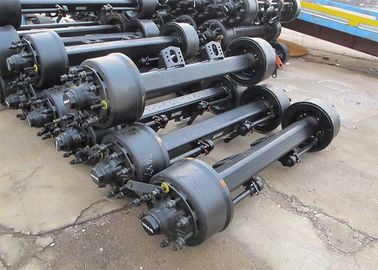 China Square Beam Semi Trailer Axles 13T 1840 / 2050 / 2180 / 2400 / 2620 Long Life distributor