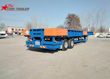 China Transporting Containers Extendable Flatbed Trailer Filled With Liquid Bath Tub distributor
